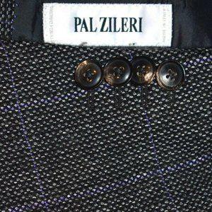 42L Pal Zileri CASHMERE Blend gray purple blazer